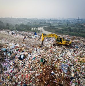 Trash problem in the US